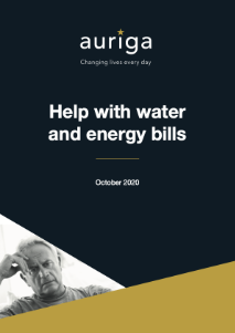 Help with water and energy bills