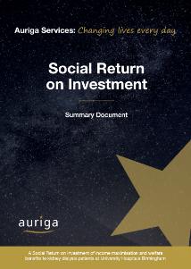 Social Return on Investment - UHB - Summary