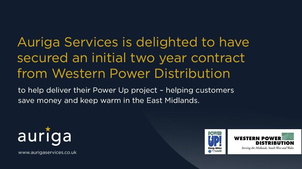 Auriga secures Western Power Distribution Contract - Auriga