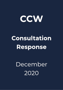 CCW – Call for evidence.  Independent review of affordability support for financially vulnerable customers in England and Wales